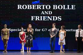 Taormina Roberto Bolle danza a Taormina
