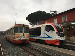 treno 3 Railroad // Ferrovia Circumetnea