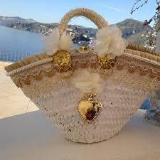 Tizzini Coffa La Coffa Siciliana (borse di paglia   straw bags)